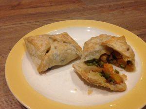 Het groentebuideltje voor etensrestjes